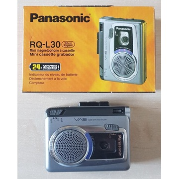 Dyktafon walkmann minimagnetofon Panasonic RQ-L30