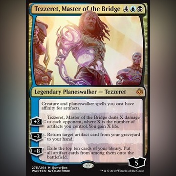 Tezzeret, Master of the Bridge  - Buy a Box