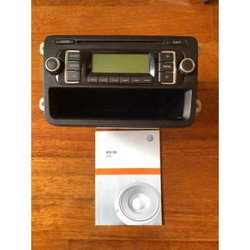 Radio VW RCD 210 MP3 fabryczne + kod + instrukcja