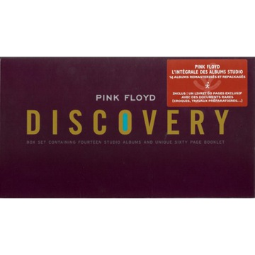 PINK FLOYD - THE DISCOVERY 14 STUDIO ALBUM BOXSET