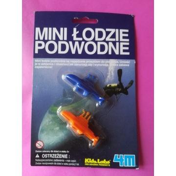 Mini łodzie podwodne, zabawka