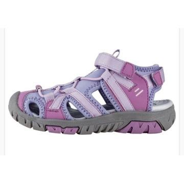 Sandałki dziewczęce firmy Lupilu rozmiar 25
