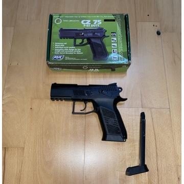 Pistolet ASG CO2 CZ 75 P-07 DUTY 2 magazynki!