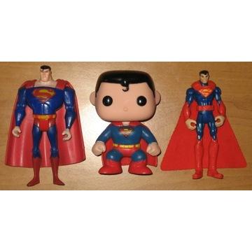 $$$ SUPERMAN 3 ORYGINALNE FIGURKI DC COMICS $$$