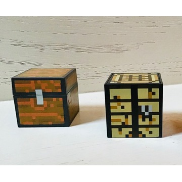 MINECRAFT akc. (Bed,Chest,Crafting Table,Pickaxe)