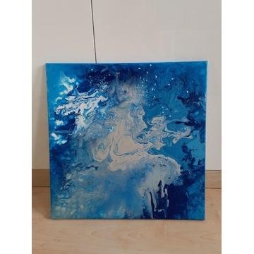Obraz akryl abstrakcja na płótnie