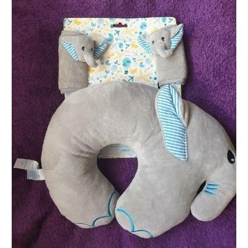 Nowa poduszka podróżna,nakładki na pasy dla dzieci