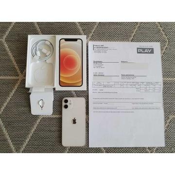 Idealny Apple iPhone 12 Mini 64 GB biały