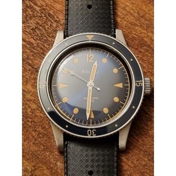 Zegarek Automatyczny BALTIC Aquascaphe Blue Gilt
