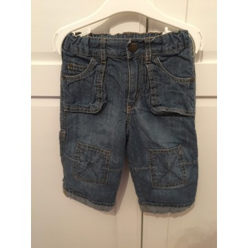 H&M spodnie jeans 9-12 msc 80 cm cena 8 zł