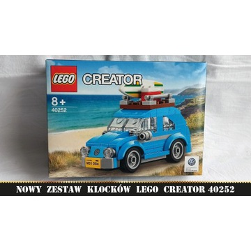 LEGO Creator 40252 Mini VW Beetle NOWE