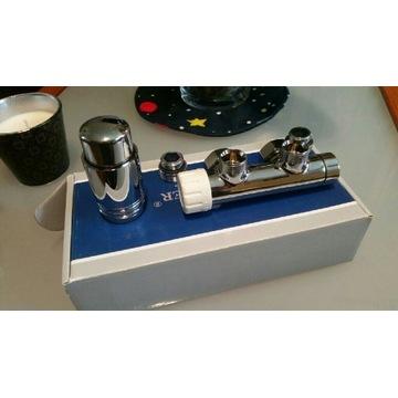 Zestaw termostatyczny duo-plex 3/4xM22x1.5 chrom