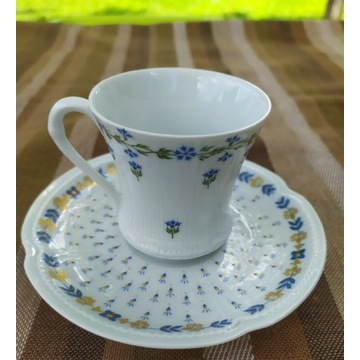 Royal Limoges - Orleans Piękny zestaw do kawy