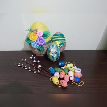 HAND MADE   śliczne jajka WIELKANOC