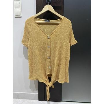 Nowa bluzka F&F 44 musztardowa żółta XXL