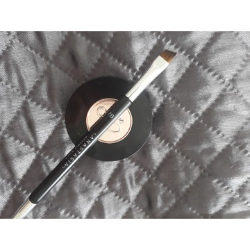 Anastasia Dark Brown Powder Duo z pędzlem