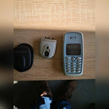 Sony Eriksson T300,apatat, słuch.- kolekcjonerski