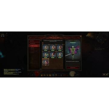 Konto Diablo 3 + resurected 2 + kosmiczne skrzydła