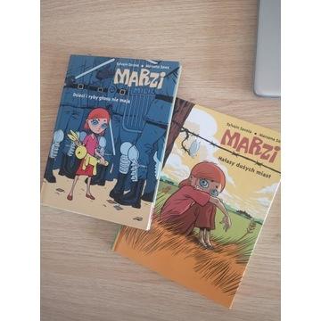 Dwa komiksy Marzi