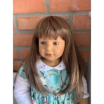 Lalka sygnowana super włosy do czesania