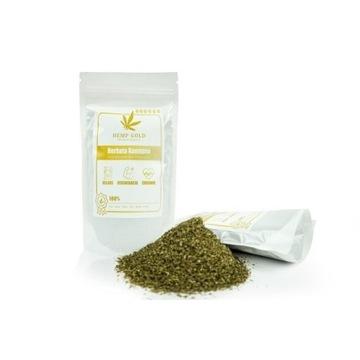 Nowość!!! Herbata Konopna  4 % CBDA + CBD  70g