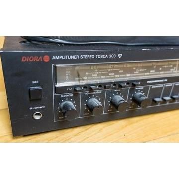 Amplituner Stereo Diora Tosca 303