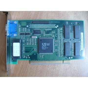 MiroCRYSTAL grafika na PCI S3 Trio64 2MB