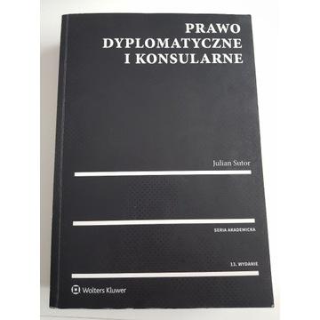 Prawo dyplomatyczne i konsularne, Sutor, 2019