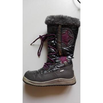 ŚNIEGOWCE, buty zimowe dziecięce rozm.31