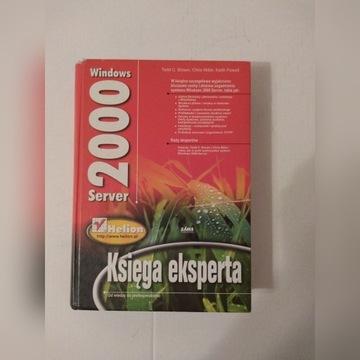 Książka Windows serwer 2000 księga eksperta