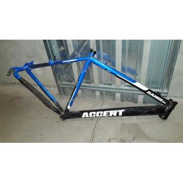 "Rama rowerowa MTB Accent Ranger 19"""