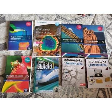 Podręczniki szkoła średnia nowa era