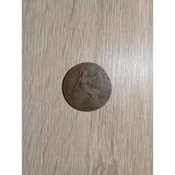 1\2 Penny 1906.   ANGLIA