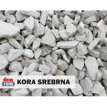 Kora Srebrna (Kamień Ogrodowy, Ozdoba, Kruszywo))