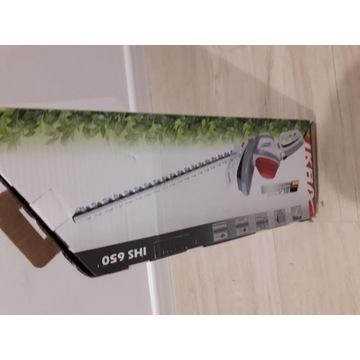 Elektryczne nożyce do żywopłotu IKRA 650 W