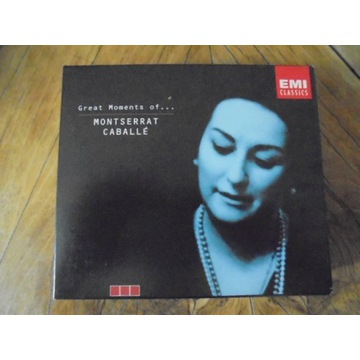 MONTSERRAT CABALLE Great Moments of ….   3CD