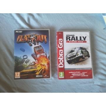 Gra Flatout i Xpand Rally Xtreme Pack (2 części)