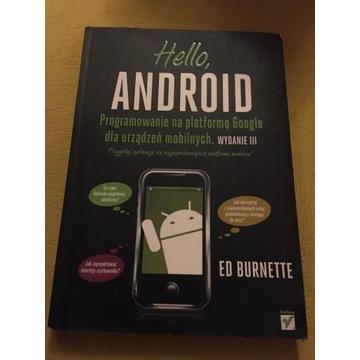 Hello android ed burnette