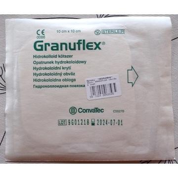 Granuflex opatrunek i pasta hydrokoloidowy na rany