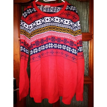 Świetny sweter ciążowy bon prix 44/46