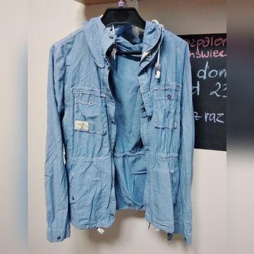 Kurtka jeansowa cienka rozmiar M