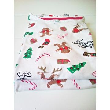 Piżama piżamka świąteczna bawełna 140/146