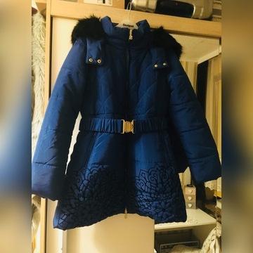 Desigual nowy płaszcz kurtka z kapturem
