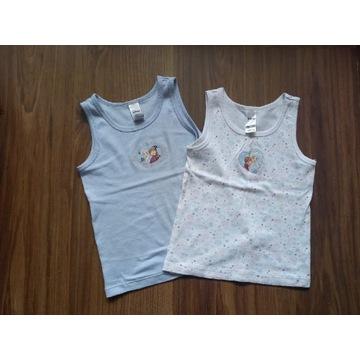2 koszulki C&A, Kraina Lodu, rozm.110