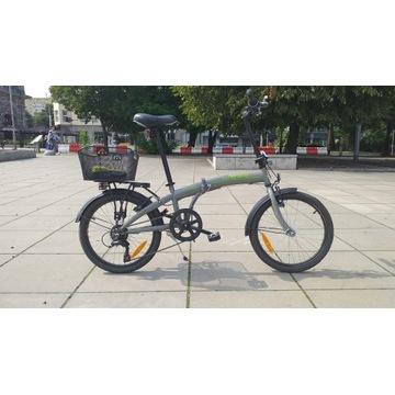 Prawie nowy rower skladany w atrakcyjnej cenie.