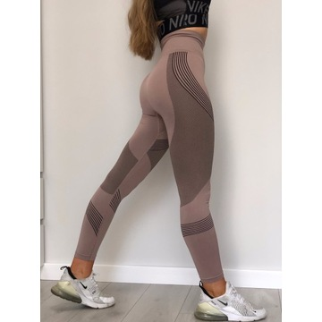 Legginsy treningowe na siłownie modelujące push-up