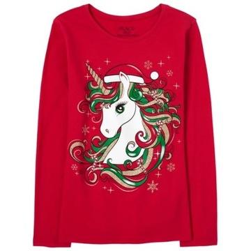 Childrens Place bluzeczka Dancing Unicorn 7-8 lat