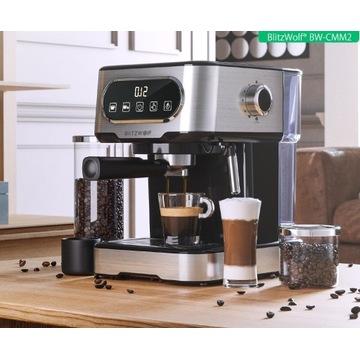 BlitzWolf BW-CMM2 ekspres do kawy 20 Bar