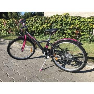 """Dobry rower dla dziewczynki Decathlon B'Twin 24"""""""
