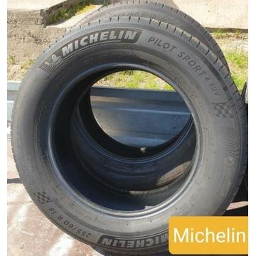 2 opony Michelin Pilot Sport 255/60/18 112W  2019r